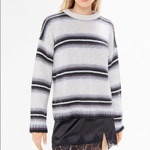 OU Striped Knit Sweater